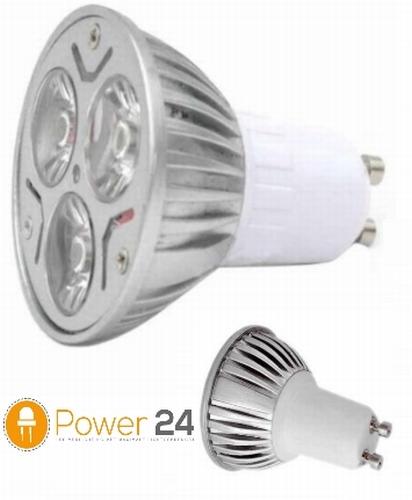 Cree GU10 - 9W - 230 V. - 580 lumen - 60° warm wit - dimbaar