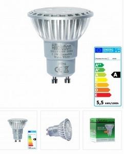 EVolution Pro Line GU10 5.5W 310lm dimbaar ! SMD LED Spot 30